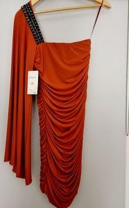Love Life - Rusted Orange dress - Size 10